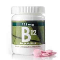 Image of   B12 125 mcg 90 tab