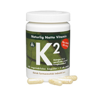Image of Natto K2 vitamin 45 mcg 60 kap