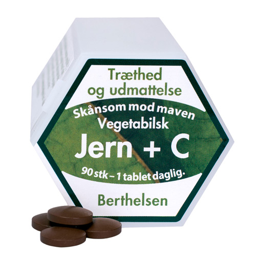 Image of   Jern + C 90 tab fra Berthelsen