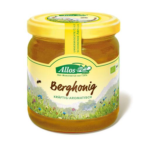 Image of Bjerg honning økologisk 500gr Allos