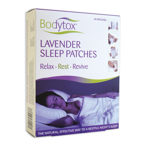Lavendel sleep patches 14 stk Bodytox