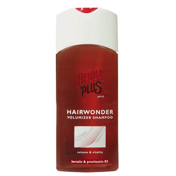Volumizer shampoo Hairwonder 200ml Henna Plus