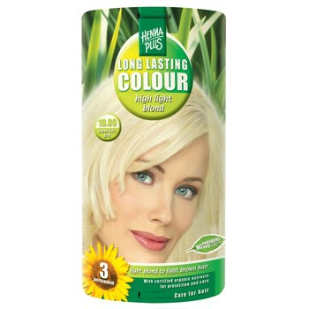 Hennaplus hårfarve (10.00 highligth blond)