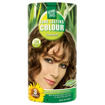 Image of   Hennaplus hårfarve (7.38 cinnamon)