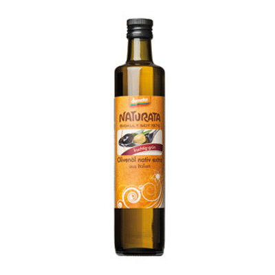 Image of   Olivenolie ekstra jomfru demeter 500ml Naturata