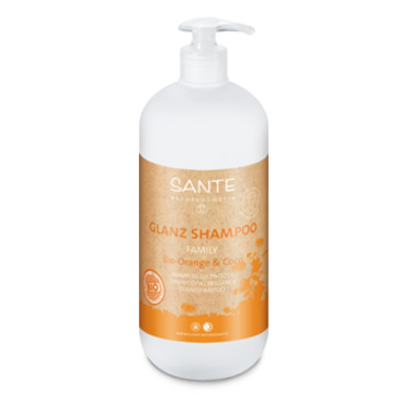 Shampoo organic gloss orange & coconut 950ml fra Sante
