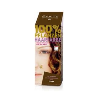 Tilbud på Terra hårfarve 100gr fra Sante