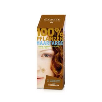 Tilbud på Nut brown hårfarve 100gr fra Sante