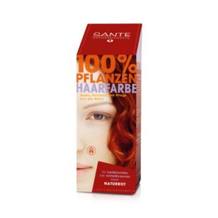 Tilbud på Natural red hårfarve 100gr fra Sante