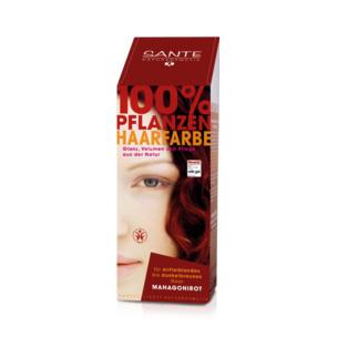 Tilbud på Mahogany red hårfarve 100gr fra Sante