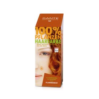 Tilbud på Flame red hårfarve 100gr fra Sante