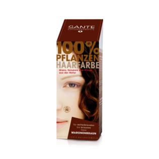 Image of Chestnut brown hårfarve 100gr fra Sante