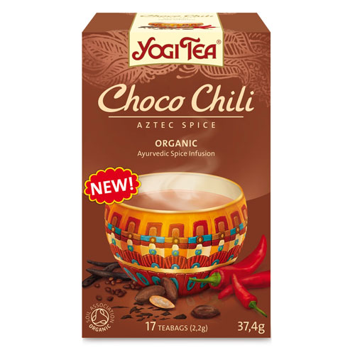 Image of   Yogi Choco Chili Økologisk 17 breve