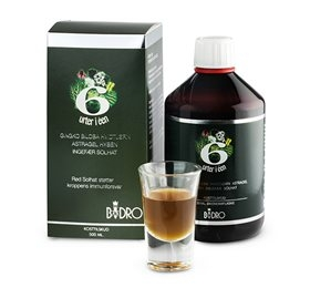 Image of   6 sunde urter i een 500 ml