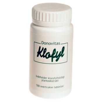 Klofyl 500 tabletter