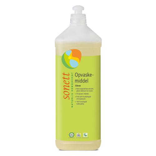 Image of   Opvaskemiddel citron Sonett (1 liter)