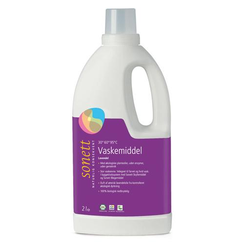 Image of   Flydende tøjvask økologisk fra Sonett (2 liter)