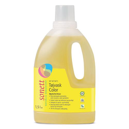 Flydende tøjvask colour økologisk fra Sonett (1,5 liter)