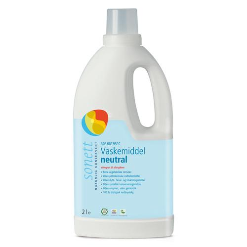 Vaskemiddel neutral 2 liter Sonett