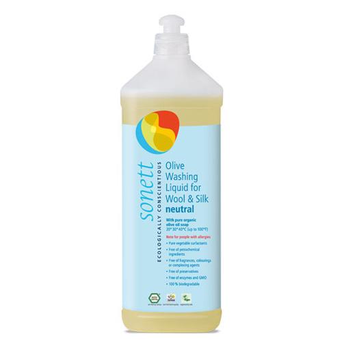 Vaskemiddel uld silke neutral 1000ml Sonett