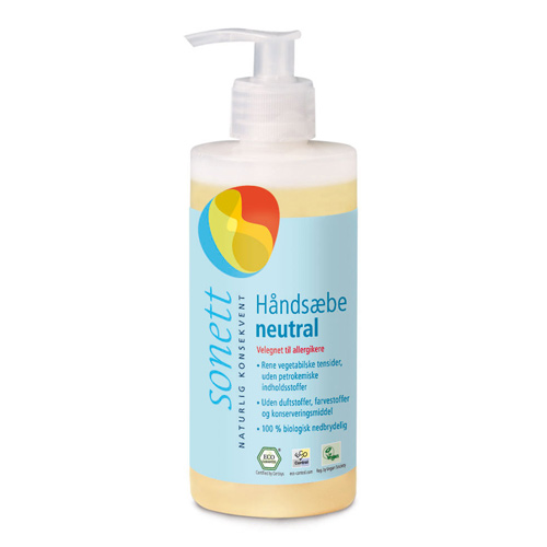 Image of   Håndsæbe neutral Sonett (300 ml)