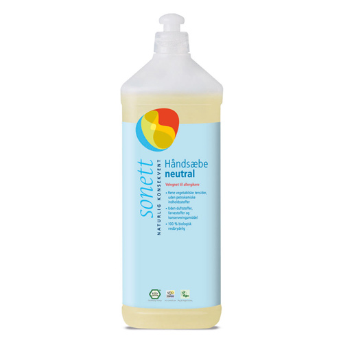 Håndsæbe neutral Sonett (1 liter)