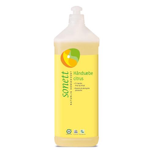 Image of   Håndsæbe citrus fra Sonett (1 liter)