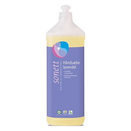 Image of   Håndsæbe lavendel fra Sonett (1 liter)