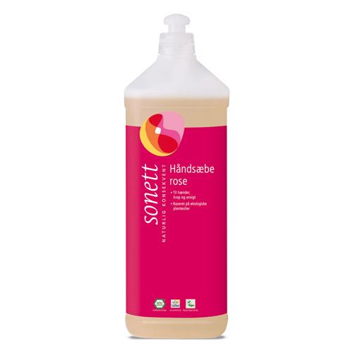 Image of   Håndsæbe rose fra Sonett (1 liter)