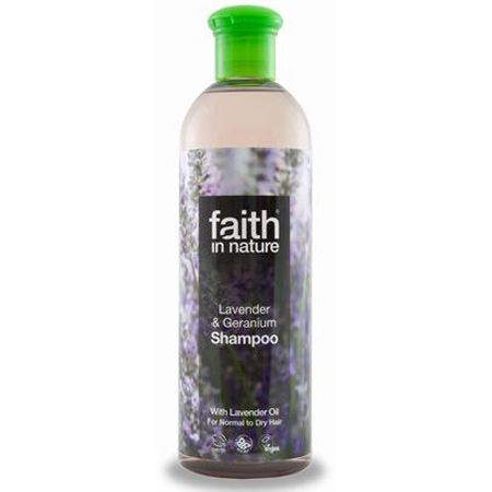 Image of Shampoo lavendel 250ml fra Faith in nature