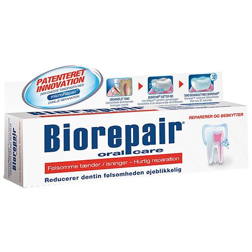 BioRepair tandpasta røde - Sensitive tænder