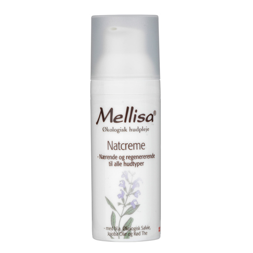 Image of Mellisa natcreme med salvie - 50 ml