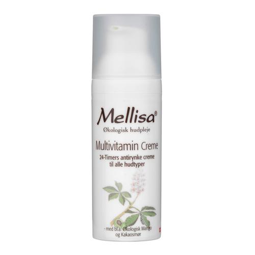 Mellisa multivitamincreme med morgenfrue - 50 ml