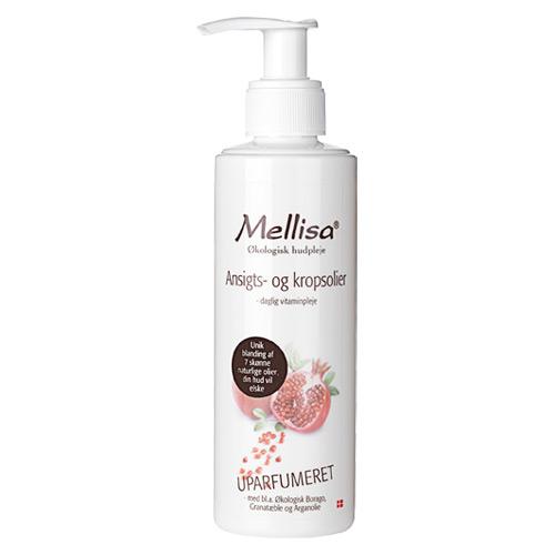 Image of Mellisa ansigts- og kropsolie - 200 ml