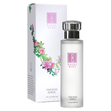 Pink rose Eau de parfum 50ml fra Raunsborg Nordic