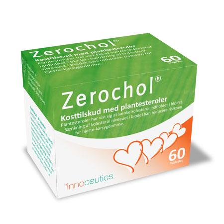 Tilbud på Zerochol 60 tab