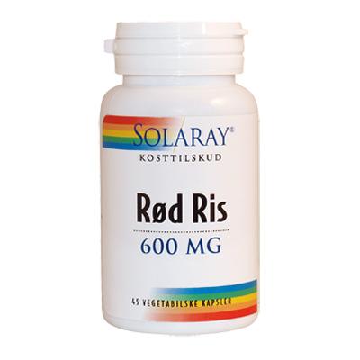 Red Yeast Rice 600 mg 45 kap fra Solaray