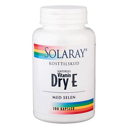 Dry E vitamin med selen 100 tab