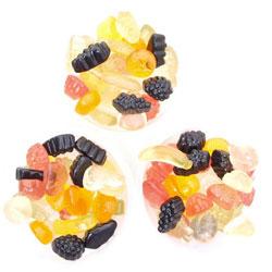 Frugtvingummi sukkerfri 90gr