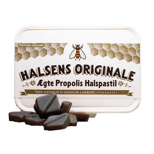 Image of Propolis halspastil engelsk lakrids 50 gr