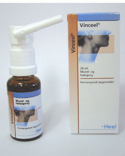 Image of Vinceel Mund- og halsspray 20 ml