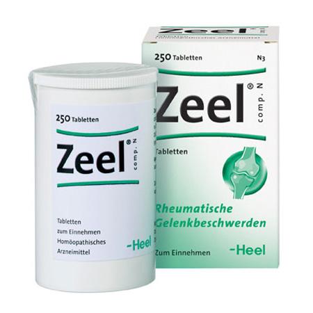 Image of   Zeel comp 250tab fra Heel
