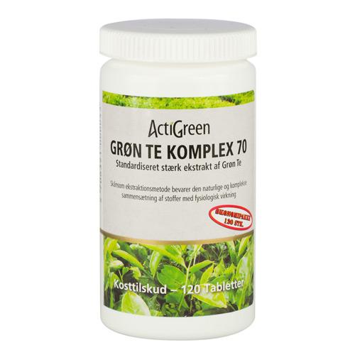 Tilbud på Grøn tea Komplex no. 70 120 tab