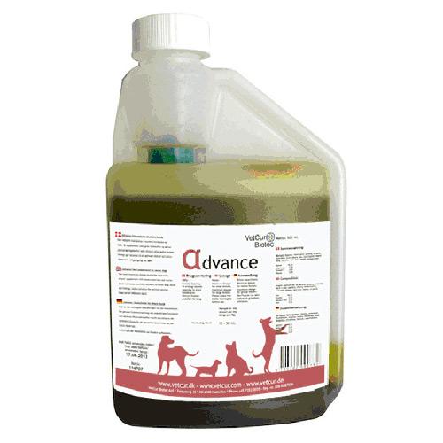 Image of   Advance Olietilskud til ældre hunde 500ml fra Vetcur biotec