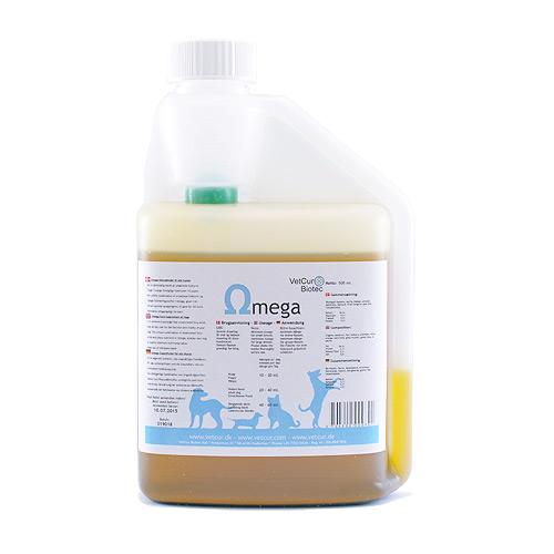 Omega Olietilskud omega 3,6,9 fedtsyrer 500ml fra Vetcur biotec