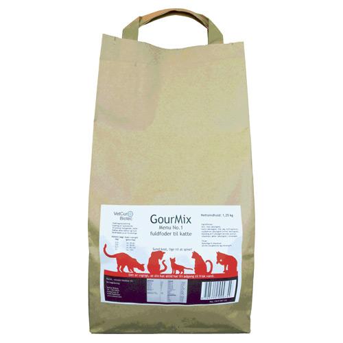 GourMix kat, menu 1 fuldfoder fra  Vetcure biotec