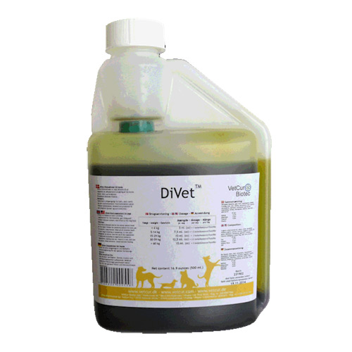 "Image of   DiVet ""godbidder til den mavesure"" 500ml"