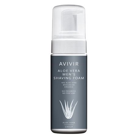Avivir Aloe Vera Mens Shaving Foam 150 ml