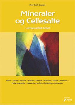Mineraler og Cellesalte bog fra foreningen Alma