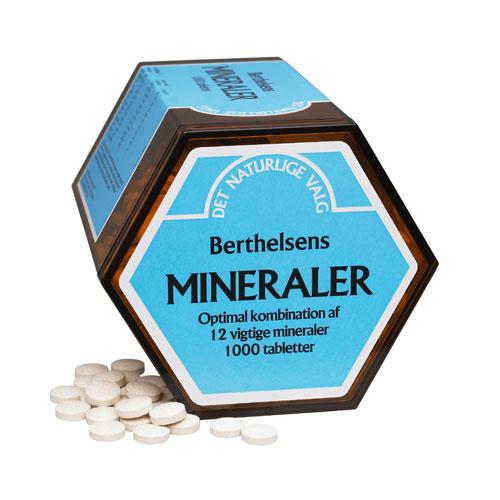 Image of   Berthelsen Mineraler 1000 tab